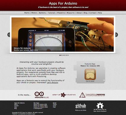 'Apps For Arduino' Site! | Arduino Focus | Scoop.it