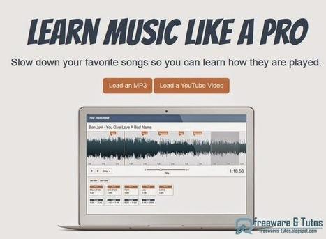 TuneTranscriber : un outil en ligne pour changer le tempo d'une musique (sans changer sa hauteur) | Les Langues pour tous | Scoop.it