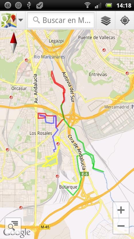 Seguir un track en GPX con Google Earth | Conocimiento libre y abierto- Humano Digital | Scoop.it
