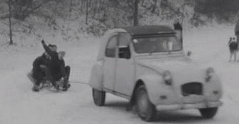 Fable venue de Belgique : La 2CV, la luge et la neige | The Blog's Revue by OlivierSC | Scoop.it