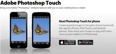 Adobe lanza Photoshop Touch para iPhone y Android | Edu-Recursos 2.0 | Scoop.it
