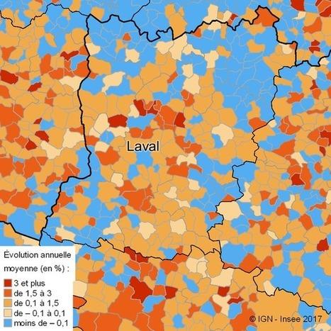 Insee > Mayenne: la population se stabilise   Observer les Pays de la Loire   Scoop.it