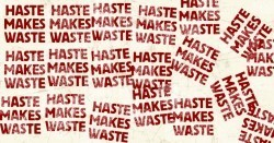 Brain study provides new insight into why haste makes waste | Mom Psych | Scoop.it