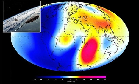 Earth's magnetic field is weakening 10 times faster than thought | Geology | Scoop.it