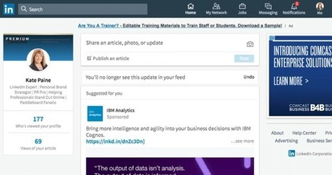 LinkedIn Changes: What Marketers Need to Know #socialmediamarketing | MarketingHits | Scoop.it