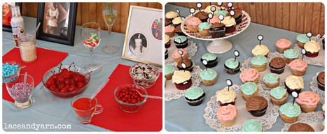 A Retro Kitchen Bridal Shower | Lace And Yarn | Vintage Kitchens | Scoop.it