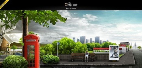 18 Surreal Dreamlike Website Designs Inspires | Design Revolution | Scoop.it