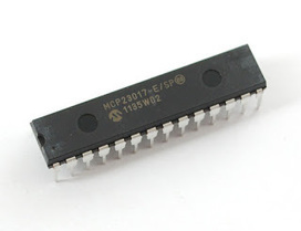 Add up to 128 Inputs,Outputs or a mix to your Arduino or Raspberry Pi | Arduino, Netduino, Rasperry Pi! | Scoop.it