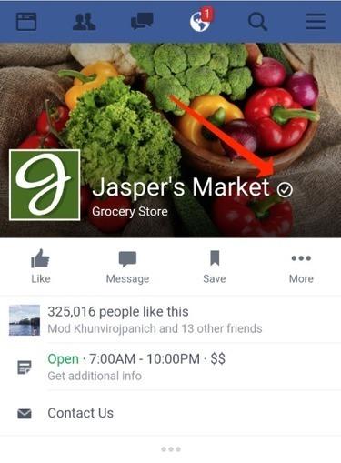 Les pages Facebook locales peuvent demander un badge d'authentification | Veille Réseaux sociaux | Scoop.it