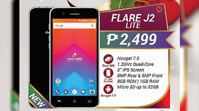 42ad5223919 Cherry Mobile Flare J2 Lite and J7 Lite budget ...
