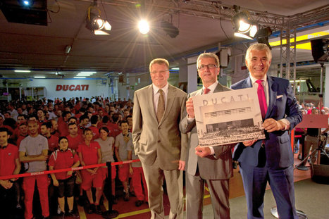 "Audi's Stadler to Ducati Workforce – ""Ducati remains Ducati""   Desmopro News   Scoop.it"
