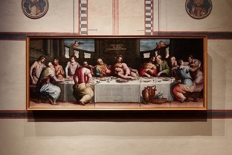 Vasari's Last Supper back on display 50 years after Florence Flood | News in Conservation | Scoop.it