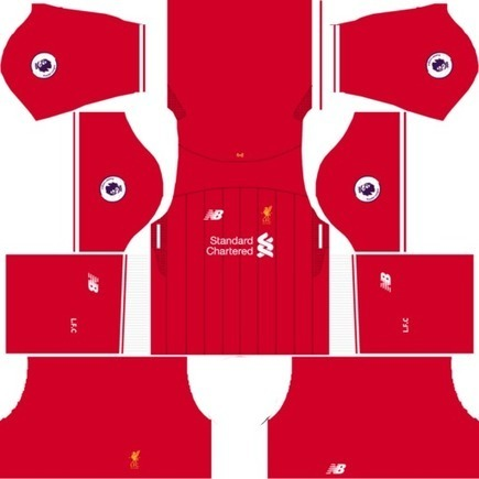 ed9a628e2 F.C. Liverpool Dream League Soccer Kits   Logo URL 2017-2018