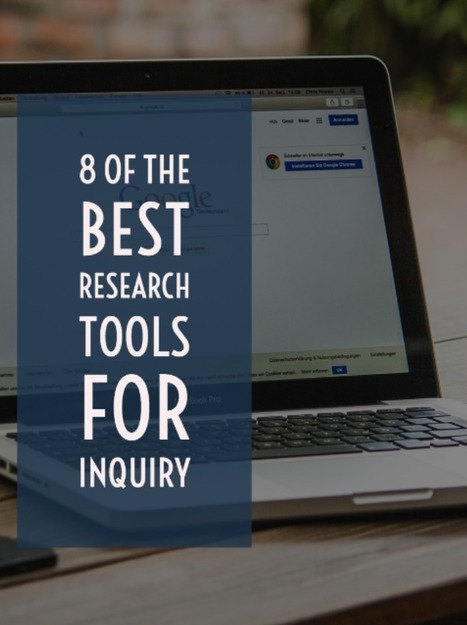 8 of the Best Research Tools for Inquiry via ILearnTechnology | Jewish Education Around the World | Scoop.it