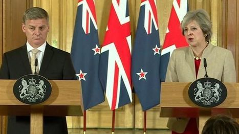 UK and New Zealand plan free trade deal after Brexit - BBC News | Welfare, Disability, Politics and People's Right's | Scoop.it