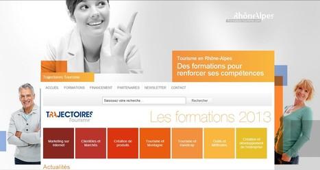 Trajectoires Tourisme : calendrier des formations 2013 par Rhône-Alpes Tourisme | Actualités pour les professionnels du Tourisme | Scoop.it