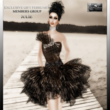 Julie Mini Dress Exclusive Member Group Gift by MOREA Style   Teleport Hub   Second Life Freebies   Scoop.it