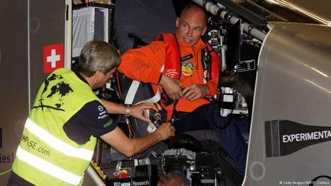 Solar Impulse 2 begins transatlantic flight   Amocean OceanScoops   Scoop.it