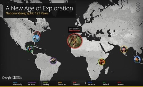 A New Age of Exploration – National Geographic 125 Years | Noticias, Recursos y Contenidos sobre Aprendizaje | Scoop.it