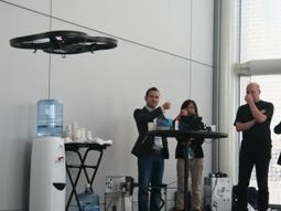 Drones Fly 'Hands Free' with Gestural Technology | Intel Free Press | Scoop.it