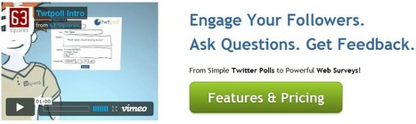 Twtpoll - From Simple Twitter Polls to Powerful Web Surveys. Social Media Feedback Tool. | 21st Century Tools for Teaching-People and Learners | Scoop.it