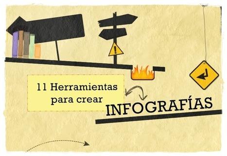 11 herramientas para crear  infografías | Psicología desde otra onda | Scoop.it