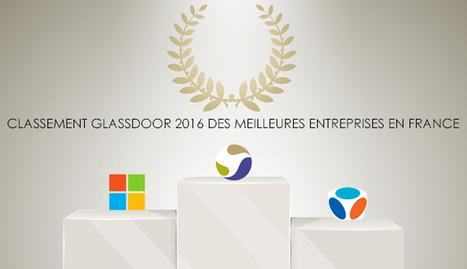 Glassdoor : 1er classement des Meilleurs Employeurs français | Entretiens Professionnels | Scoop.it