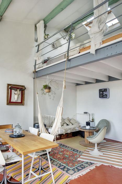 Un duplex bohème à Marseille | PLANETE DECO a homes world | Céka décore | Scoop.it
