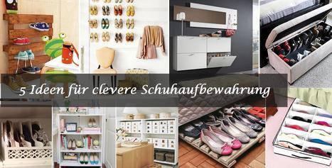 5 ideen f r clevere schuhaufbewahrung mo. Black Bedroom Furniture Sets. Home Design Ideas