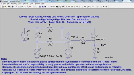 Linear Technology - LTspice Demo Circuits | Better teaching, more learning | Scoop.it