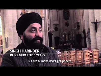 Sikhs from Afghanistan in a church in Europe's capital city (video) | Occupy Belgium | Scoop.it
