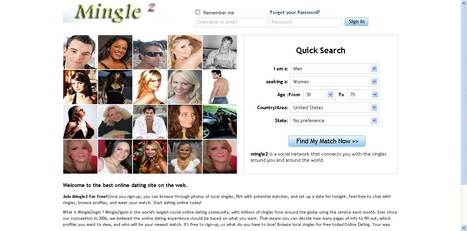 Free online dating site at mingle2 com