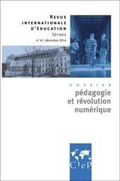 Pédagogie et révolution numérique | CIEP | Langues, TICE & pédagogie | Scoop.it