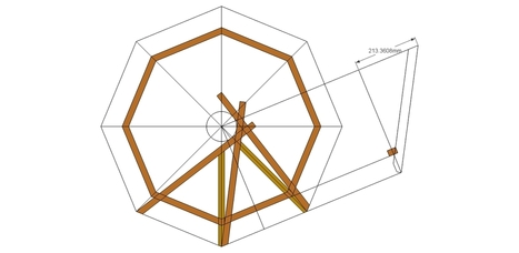 Roof Framing Geometry: The Mandala roof (reciprocal roof) | world as cohabitat | Scoop.it
