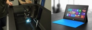 Design of Microsoft Surface Benefits from 3D Printing   3D printing - Mashup   Scoop.it