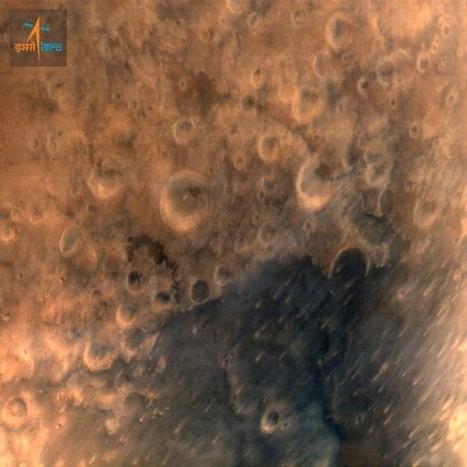 La prima immagine di Marte dalla sonda indiana MOM | astronotizie | Scoop.it