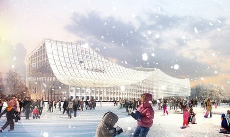 Helsinki Central Library Competition Entry / PAR + Arup | The Architecture of the City | Scoop.it