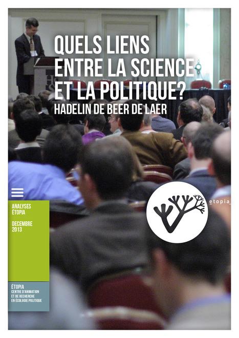 Etopia | Quels LIENS entre la science et la politique? | actions de concertation citoyenne | Scoop.it