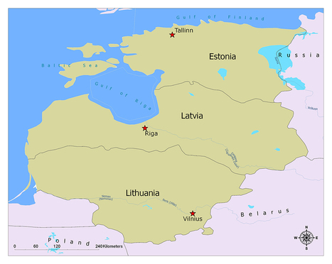baltic states map\' in education | Scoop.it
