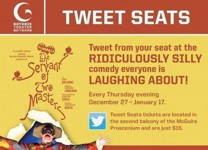 VAUDEVILLE – Un théâtre américain propose aux spectateurs de live-tweeter ses représentations | Communication - Marketing - Web_Mode Pause | Scoop.it