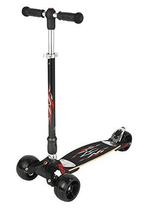 394aae2047c Monster Kickboard Scooter with Interchangeable Handlebar (T-bar   Pilot  both included)