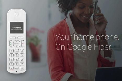 Google Fiber Phone, il modo di Google di intendere il telefono fisso | InTime - Social Media Magazine | Scoop.it
