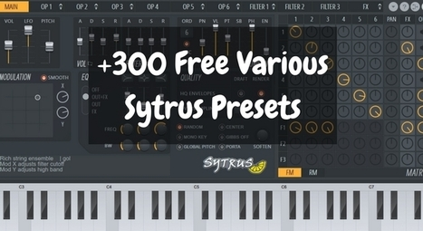300 Free Various EDM Sytrus Presets | Megapack
