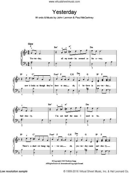 beatles complete scores pdf free download noc