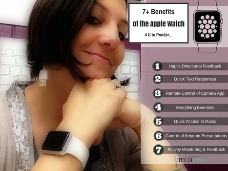 7+ Benefits of the Apple Watch 4 U to Ponder… | iPad Lessons | Scoop.it