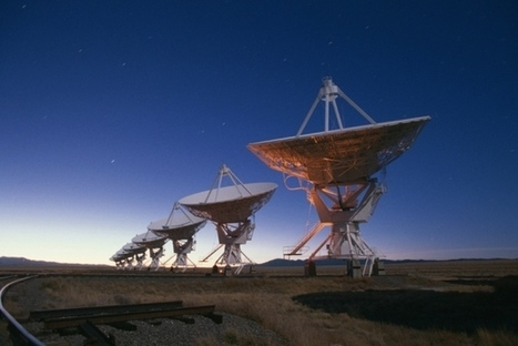 Mysterious cosmic radio blasts traced to surprising source #astronomy #science | Limitless learning Universe | Scoop.it