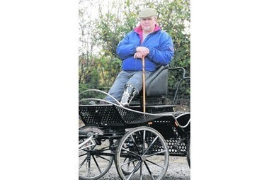 Mick represents  GB   in sport started as therapy | Carriage Driving Radio Show | Scoop.it