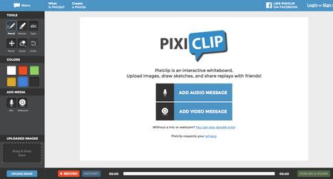 Pixiclip   Creative Tools... and ESL   Scoop.it