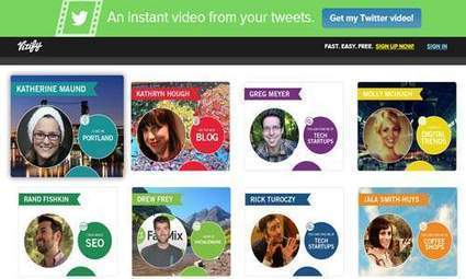 Vizify Makes it Easy To Promote the Best of You or Your Brand | Inspiring Social Media | Scoop.it