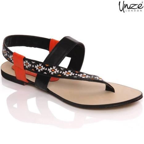 2af84300ef3d Unze New Latest Shoes Sandals For Teen Girls